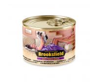 Консервированный корм Brooksfield Adult Beef & Lamb - для собак мелких пород с говядиной и ягнёнком