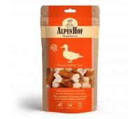 AlpenHof Кальциевые косточки с уткой для мелких собак и щенков 50г