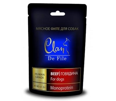 Купить CLAN De File Мясное Филе Говядины 40г