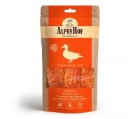 AlpenHof Жевательные палочки с уткой для средних и крупных собак 80г