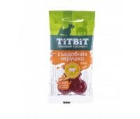 TiTBiT Съедобная Игрушка косточка с телятиной Mini