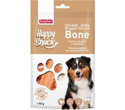 Купить Beaphar Happy Snack Куриное филе на Кальциевой косточке 60г