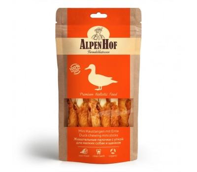 Купить AlpenHof Жевательные палочки с уткой для мелких собак и щенков 50г