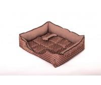 """Юсонд """"Кант""""лежак прямоугольный с вырезом №4 75*65*23см для собак"""