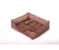 """Юсонд """"Кант"""" лежак прямоугольный с вырезом №3 64*54*18см для собак"""