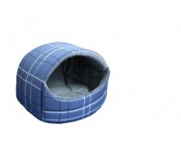 Пушок домик округлый мех №1 37*37*30см для собак