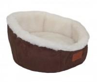DOGMAN Лежак Софт Мех 45*45*27см M для собак