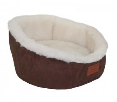 Купить DOGMAN Лежак Cофт Мех 35*35*23см S для собак