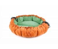 TiTBiT лежак трансформер круглый 100см для собак
