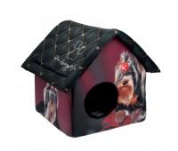 PerseiLine Домик Дизайн Йорк 33*33*40см для собак
