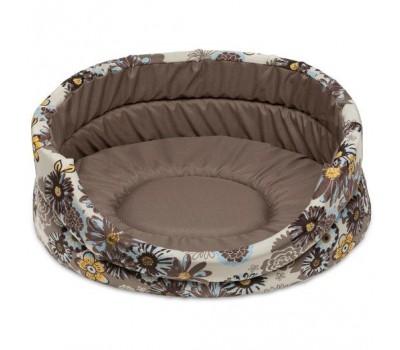 Купить COMFY BLOOM 3 лежак бежевый с ромашками 54*46*16см для собак