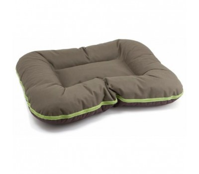 Купить COMFY ARNOLD XXL лежак коричнево-зеленый 110*80см для собак
