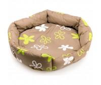 COMFY VANESSA LIGHT-1 лежак хаки полиэстер 45*45*13см для собак