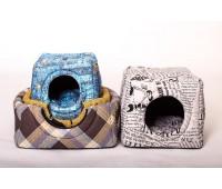 Юсонд Оксфорд дом-куб трансформер бязь №2 42*38см для собак