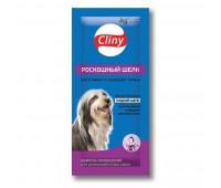 Cliny Роскошный Шелк 15мл шампунь для собак