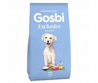 GOSBI EXCLUSIVE MINI FISH с лососем и голубой рыбой для собак мелких пород