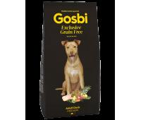 GOSBI EXCLUSIVE GRAIN FREE MEDIUM DUCK беззерновой с уткой для собак