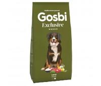 GOSBI EXCLUSIVE MAXI LAMB с ягнёнком для крупных пород собака  12 кг.