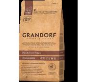 GRANDORF ALL BREEDS Duck/Potato беззерновой корм утка с картофелем для собак 12кг
