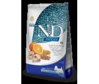 Farmina N&D OCEAN с треской, спельтой, апельсином для собак крупных и средних пород 2,5кг