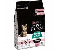 PRO PLAN Small & Mini Puppy Skin с лососем для щенков мелких пород с чувствительной кожей