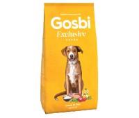 GOSBI EXCLUSIVE JUNIOR LAMB/FISH для щенков средних и крупных пород с ягненком и рыбой