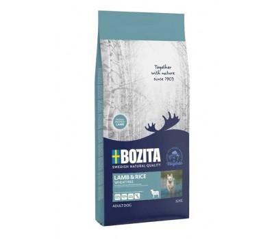 Купить BOZITA Naturals Wheat Free для собак с ягненком и рисом  3,5 кг.