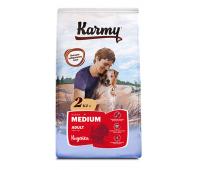 KARMY Медиум Эдалт с индейкой для собак средних пород