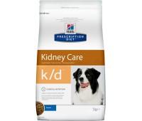 HILL'S PD k/d Kidney Care для собак при заболеваниях почек  12 кг.