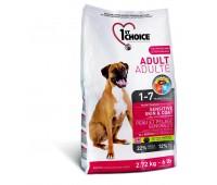 1stChoice Adult корм для собак с ягненком, рыбой и рисом