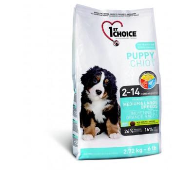 Купить 1stChoice Adult Large Medium для собак с курицей 15 кг.