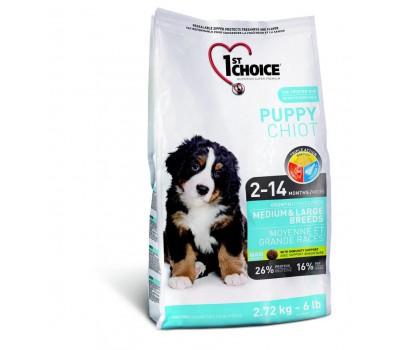 Купить 1stChoice для щенков крупных и средних пород