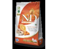 Farmina N&D PUMPKIN 800г с треской, апельсином, тыквой для собак мелких пород