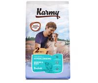 KARMY гипоаллергенный с ягненком для собак средних и крупных пород