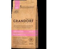 GRANDORF PUPPY низкозерновой с ягненком и бурым рисом для щенков 3кг