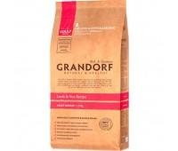GRANDORF MEDIUM низкозерновой с ягненком и бурым рисом для собак средних пород 3кг