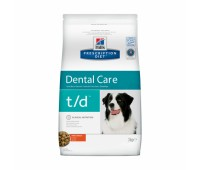 HILL'S PD t/d для здровья зубов у собак 3кг