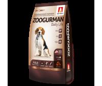 Zoogurman Daily Life с индейкой для собак средних и крупных пород 12кг