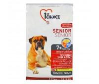 1stChoice SENIOR 12кг с ягненком,рыбой,рисом при чуствительной кожи и шерсти для пожилых собак