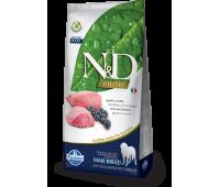 Farmina N&D PRIME ADULT беззерновой, ягненок с черникой 2,5кг для собак средних и крупных пород