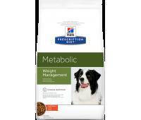 HILL'S PD Metabolic Weight Management с курицей для контроля веса у собак 1,5кг