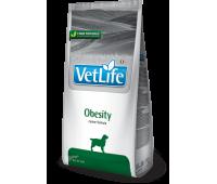 Farmina VetLife Obesity 2кг для собак при ожирении