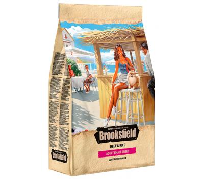 Купить Сухой корм BROOKSFIELD Adult Dog Small Breed для взрослых собак мелких пород с говядиной и рисом