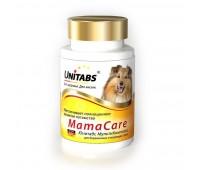 Витамины Unitabs МамаCare c B9 для беременных собак, 100таб